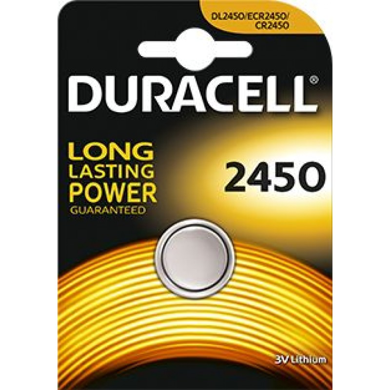 Duracell CR2450 elementas, 1 vnt.