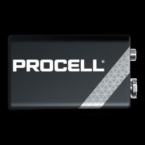 Duracell Procell 6LR61 9V baterija, 10 vnt.