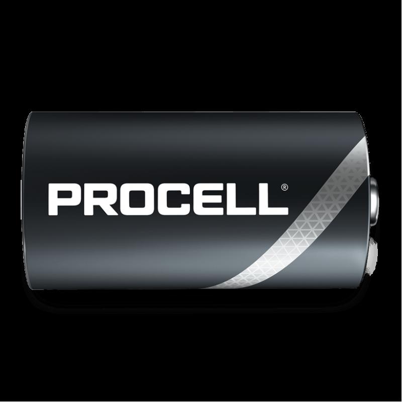 Duracell Procell LR20 D elementas, 10 vnt.