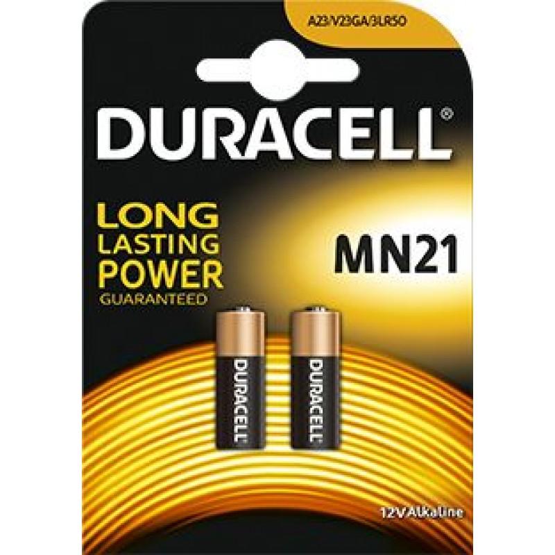 Duracell MN21 12V baterija, 2 vnt.