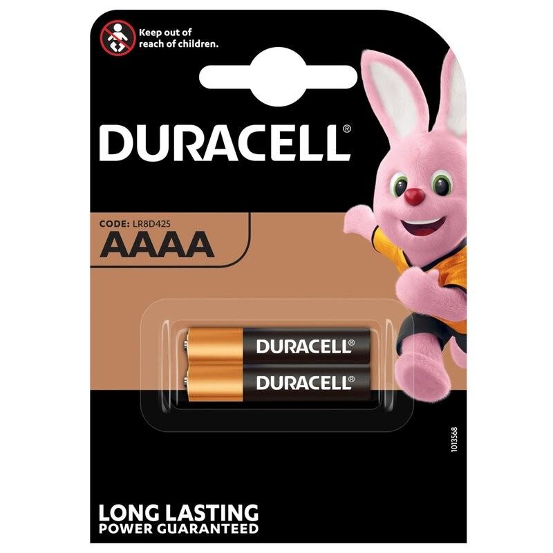 Duracell AAAA LR8D425 elementas, 2 vnt.