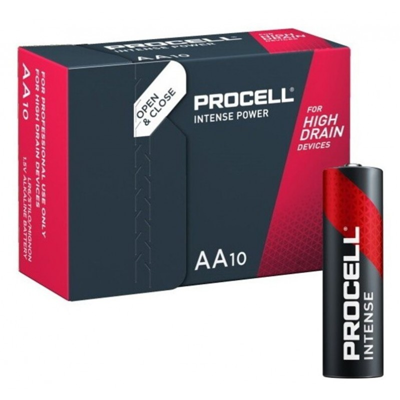 Duracell Procell Intense LR6 AA elementas, 10 vnt.