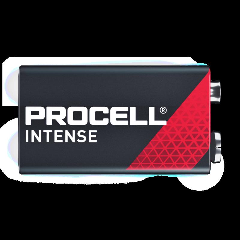 Duracell Procell Intense 6LR61 9V baterija, 10 vnt.