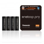 Panasonic Eneloop PRO 2500mAh AA akumuliatorius, 4 vnt.