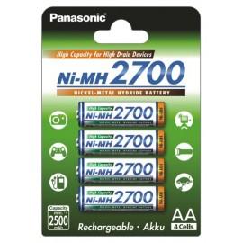 Panasonic 2700mAh AA akumuliatorius, 4 vnt.
