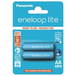 Panasonic Eneloop Lite 950mAh AA akumuliatorius, 2 vnt.
