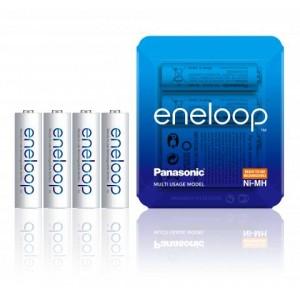 Panasonic Eneloop 1900mAh AA akumuliatorius, 4 vnt.