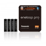 Panasonic Eneloop PRO 930mAh AAA akumuliatorius, 4 vnt.