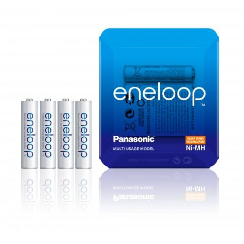 Panasonic Eneloop 750mAh AAA akumuliatorius, 4 vnt.