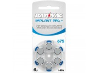 Rayovac Implant PRO+ elementai kochleariniams implantams PR44 675, 6 vnt.