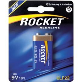 Rocket Alkaline 9V baterija, 1 vnt.