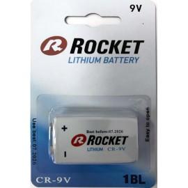 Rocket Lithium 9V baterija, 1 vnt.