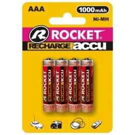 Rocket Accu 1000mAh AAA akumuliatorius, 4 vnt.