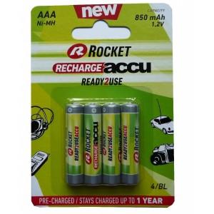 Rocket Ready2Use 850mAh AAA akumuliatorius, 4 vnt.