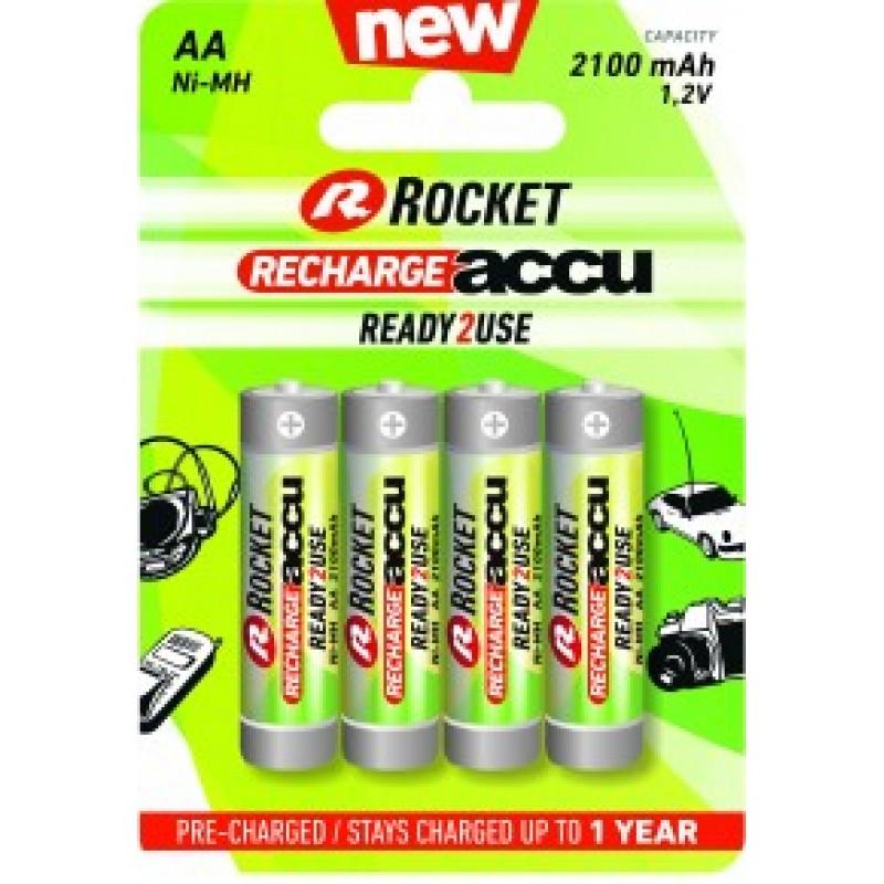 Rocket RTU 2100mAh AA akumuliatorius, 4 vnt.