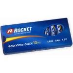 Rocket Alkaline AAA LR03 elementas, 10 vnt.