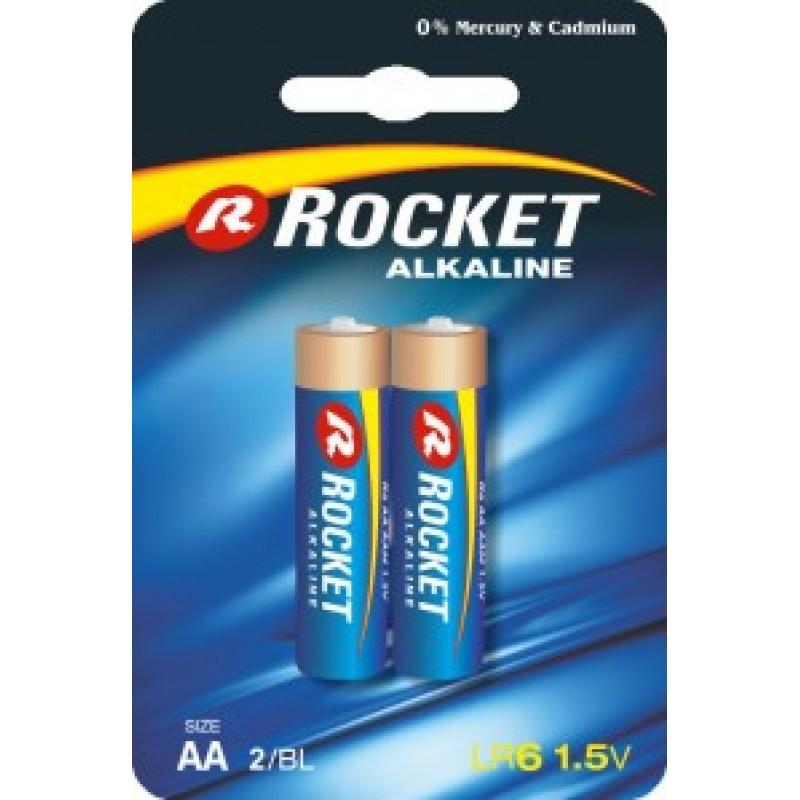 Rocket Alkaline AA elementas, 2 vnt.