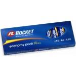 Rocket Alkaline AA LR6 elementas, 10 vnt.