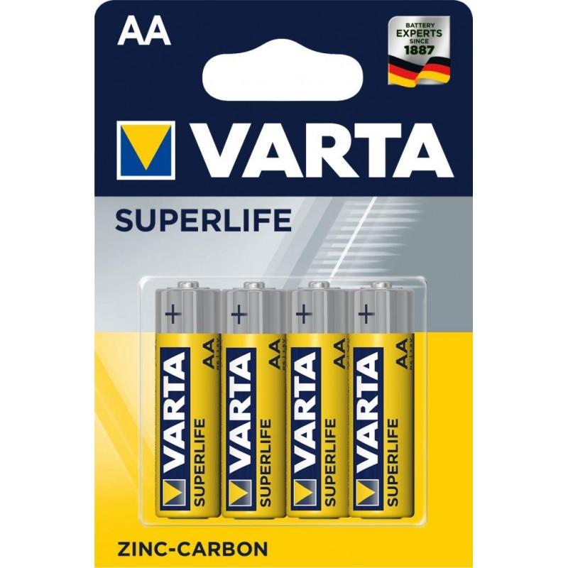Varta Superlife AA elementas, 4 vnt.