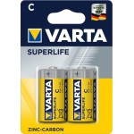 Varta Superlife C elementas, 2 vnt.