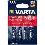 Varta Longlife Max Power AAA elementas, 4 vnt.