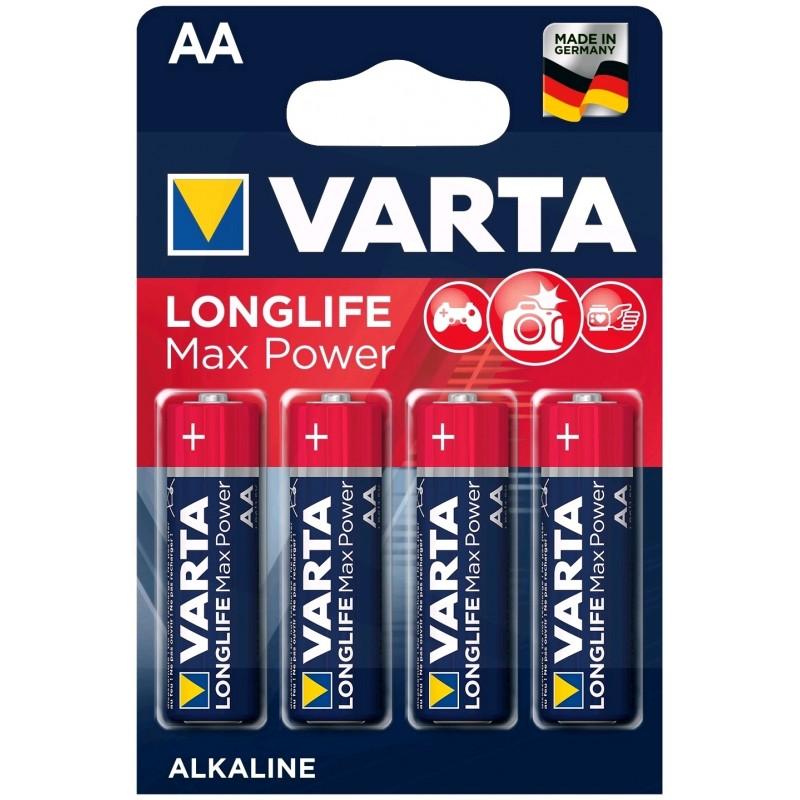 Varta Longlife Max Power AA elementas, 4 vnt.