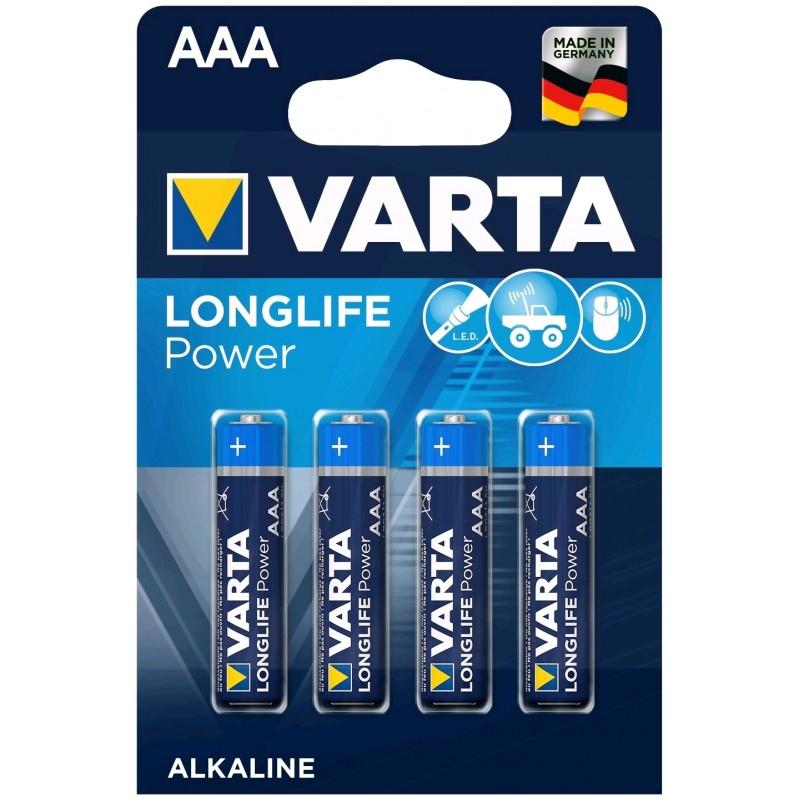 Varta Longlife Power AAA elementas, 4 vnt.