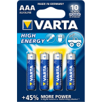 Varta High Energy AAA elementas, 4 vnt.