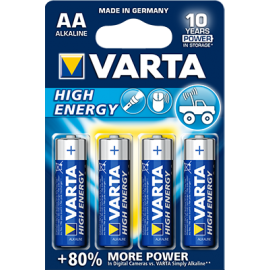 Varta High Energy AA elementas, 4 vnt.