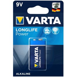 Varta Longlife Power 9V baterija, 1 vnt.