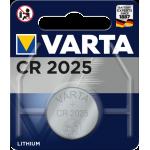 Varta Electronics CR2025 elementas, 1 vnt.