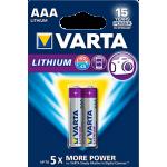 Varta Lithium AAA elementas, 2 vnt.