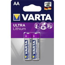 Varta Ultra Lithium AA elementas, 2 vnt.