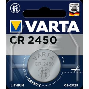 Varta Electronics CR2450 elementas, 1 vnt.