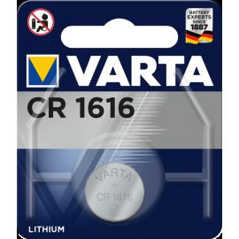 Varta Electronics CR1616 elementas, 1 vnt.