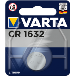 Varta Electronics CR1632 elementas, 1 vnt.
