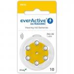 everActive Ultrasonic elementai klausos aparatams PR70 10, 6 vnt.