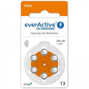 everActive Ultrasonic elementai klausos aparatams PR48 13, 6 vnt.