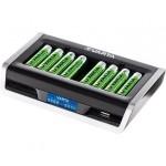 Varta 8 AA/AAA elementų kroviklis LCD Multi Charger