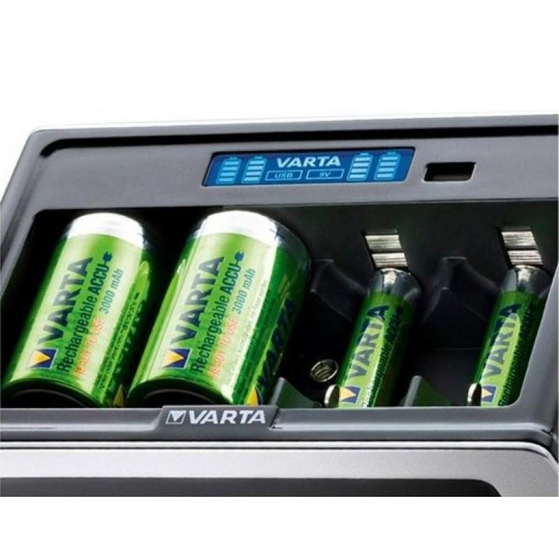 Varta universalus AAA/AA/C/D/9V elementų kroviklis LCD Universal Charger