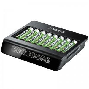 Varta 8 AA/AAA elementų kroviklis LCD Multi Charger Plus