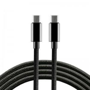 everActive 1m pintas PD kabelis USB-C - USB-C 3A 60W