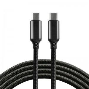 everActive 1m pintas PD kabelis USB-C - USB-C 5A 100W