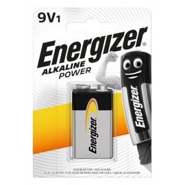 Energizer Alkaline Power 6LR61 9V baterija, 1 vnt.