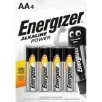 Energizer Alkaline Power LR6 AA elementai, 4 vnt.