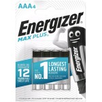 Energizer Max Plus LR03 AAA elementai, 4 vnt.