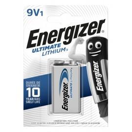 Energizer Ultimate Lithium 9V baterija, 1 vnt.