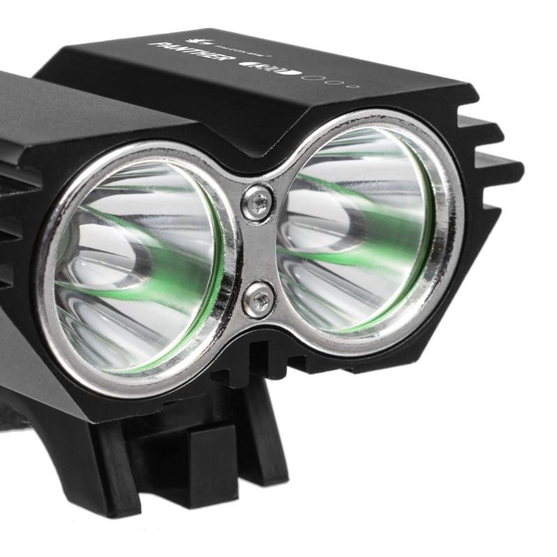 Falcon Eye 1300lm įkraunamas priekinis dviračio žibintas Panther