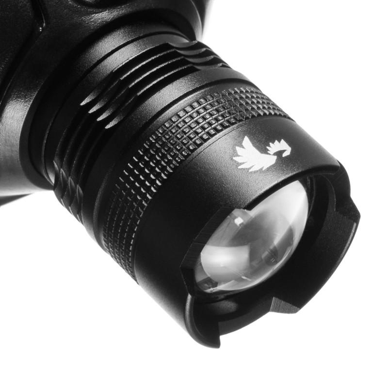Falcon Eye 180lm žibintuvėlis ant galvos su fokusavimo funkcija FLASH