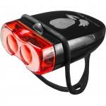 Falcon Eye USB įkraunamas galinis dviračio žibintas FLEA